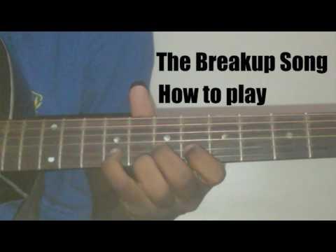 Guitar likhith kurba guitar tabs : The Breakup Song| ae dil hai mushkil | guitar tabs by mangesh ...