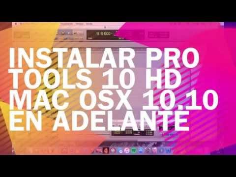 Instalar Pro Tools 10 HD Yosemite/ Mojave MAC OSX/ Install Pro Tools 10 El capitan!  MAC OSX!