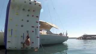 Climbing Wall - New Super Yacht Toy