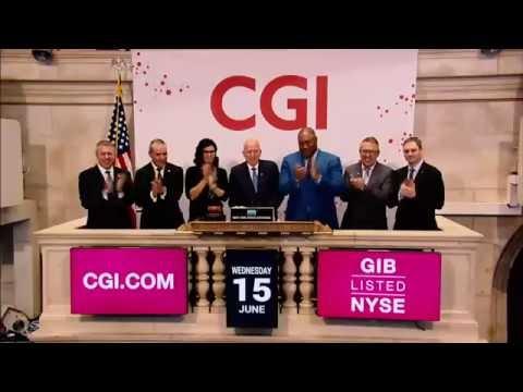 CGI viert 40-jarig bestaan met luiden van de bel  van de New York Stock Exchange | CGI Nederland