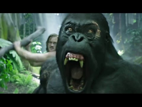 "Tarzan vs ""Brother"" Gorilla - The Legend of Tarzan Scene"