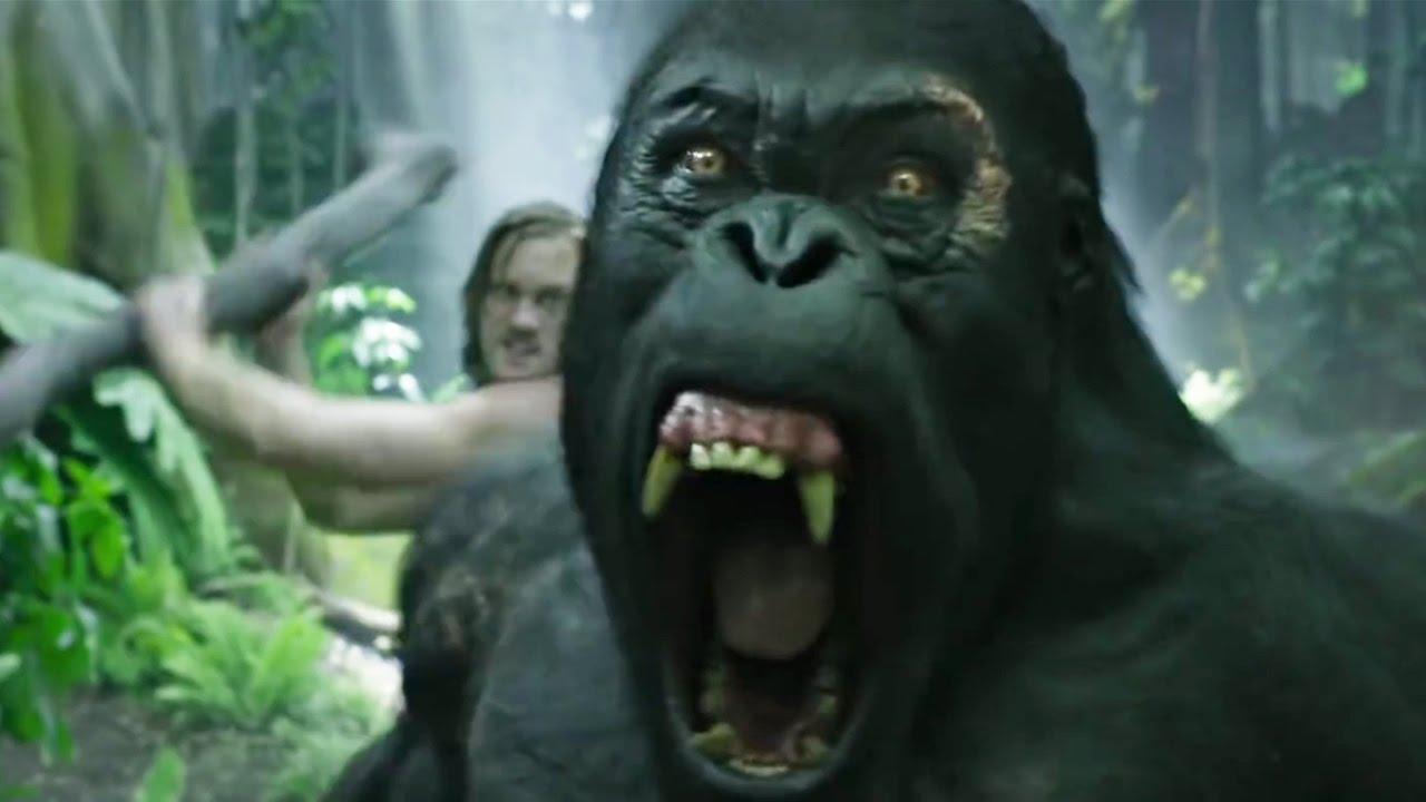 "Download Tarzan vs ""Brother"" Gorilla - The Legend of Tarzan Scene"