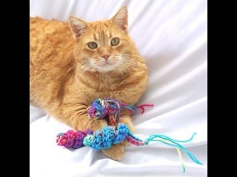 tricoter jouet pour chat