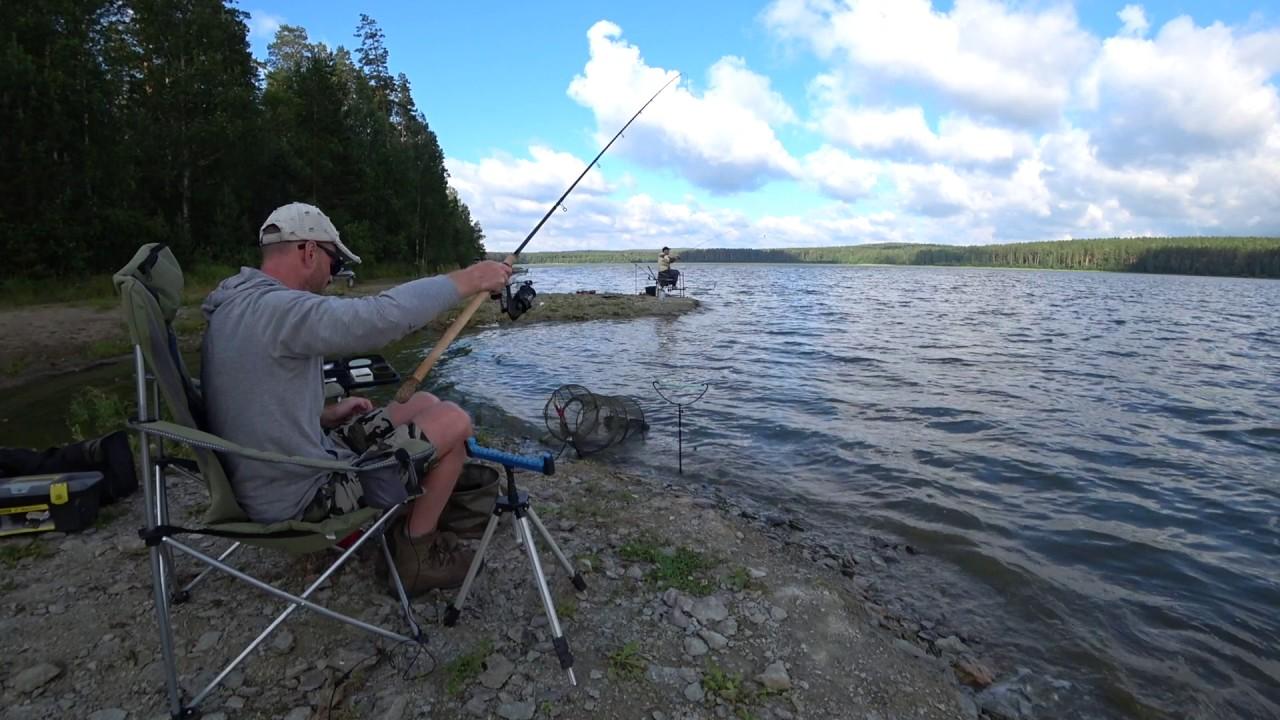 рыбалка на карпа на плотинах