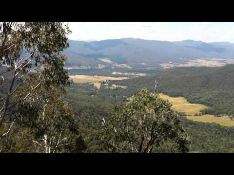 View from Mt Buffalo during Alpine Classic 2012