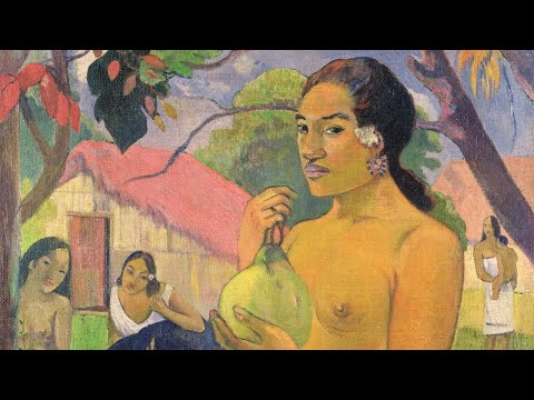 """Paul Gauguin's """"Woman Holding a Fruit"""" Captures the Exoticism and Mystique of the Tropics"""