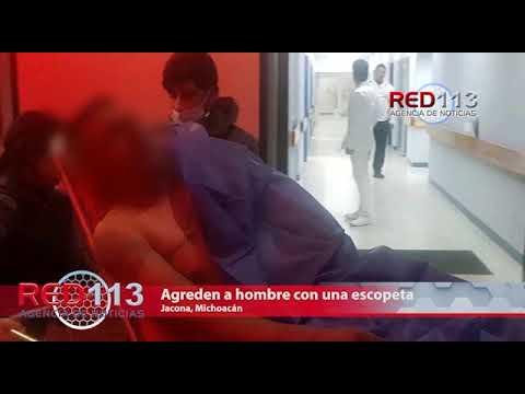 VIDEO Agreden a hombre con una escopeta