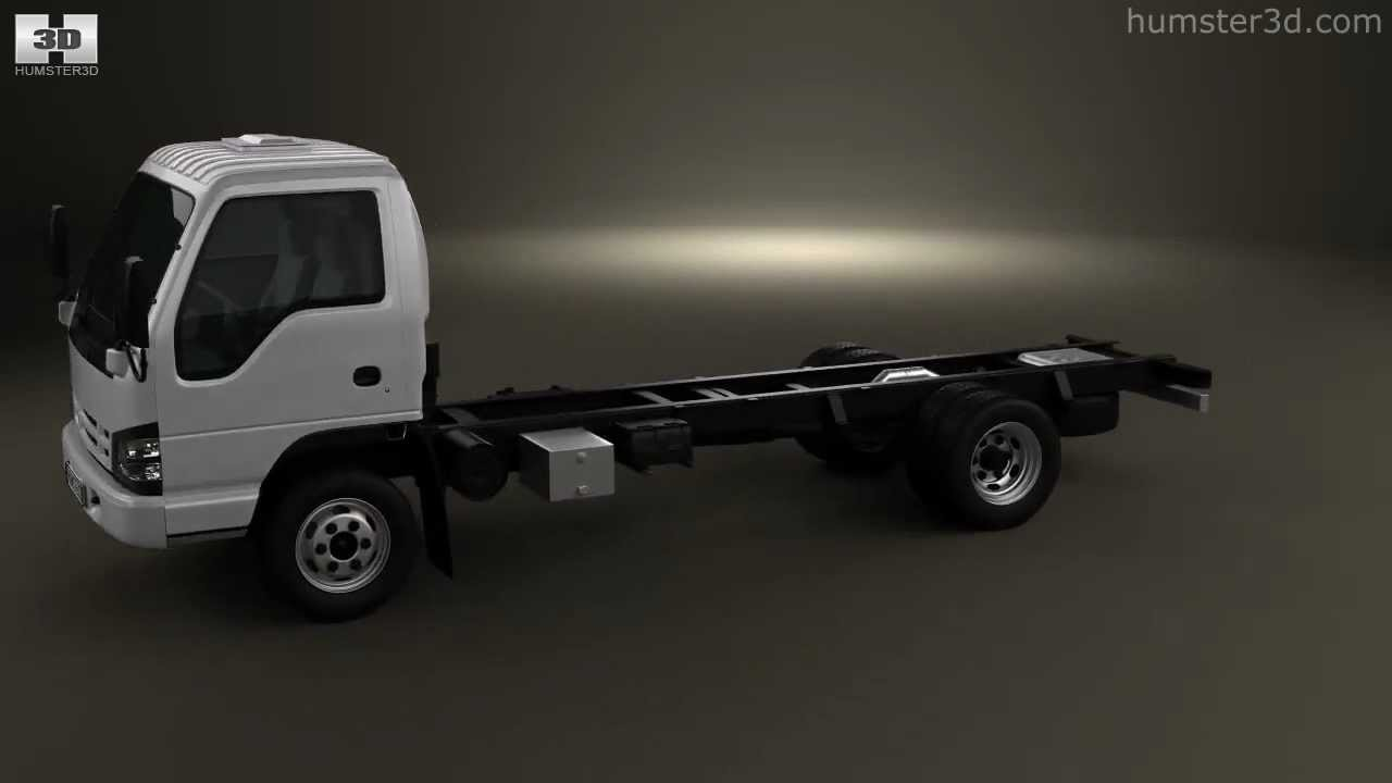 Isuzu npr chassis 2011 by 3d model store humster3d com