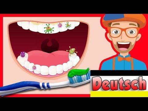 Zahnputz-Song von Blippi   Der 2 Minuten Zahnputzspaß für Kinder