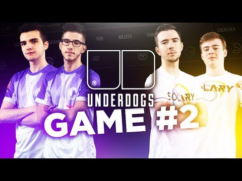 UNDERDOGS : SOLARY VS MILLENIUM - GAME #2