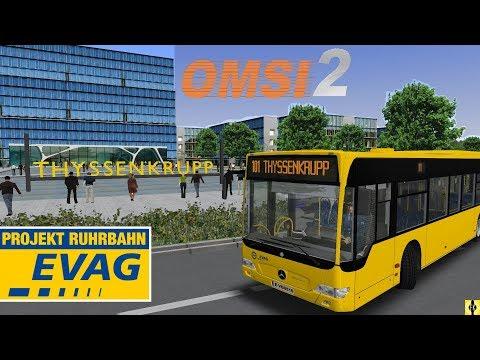 OMSI 2 [60 FPS] - PROJEKT RUHRBAHN (WIP) - SEV 101 in Essen - Let's Play Omsi 2 [#376]