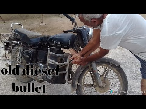 Old Diesel Bullet full review how to bullet start and off