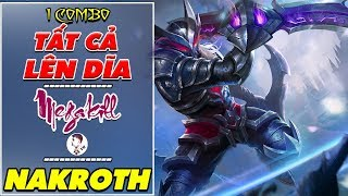 Trận đánh CẢM XÚC MEGAKILL với NAKROTH (#2)! Sức mạnh NAKROTH sẽ ở 1 ĐỈNH CAO mới với BUILD ĐỒ này