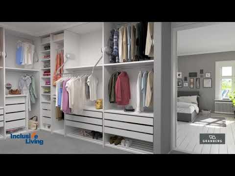 Inclusive Living Australian Distributor of Granberg -Butler 722 - ELECTRIC -Wardrobe lift system