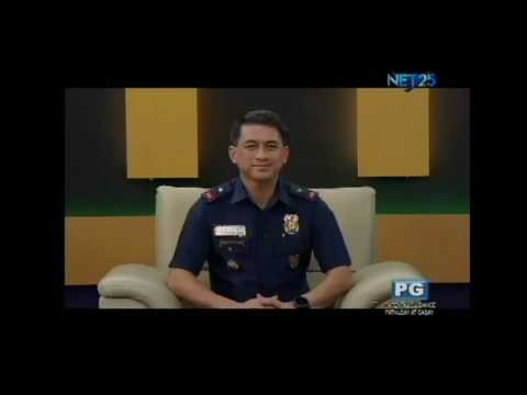 Diskusyon : Chief Supt. Noel Constantino Director for Police Community Relations Group