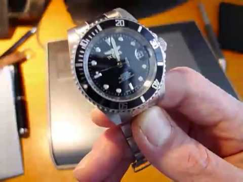 Invicta 8926 Sticky Bezel Fix