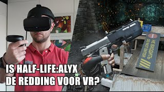 Is Half-Life: Alyx de redding voor Virtual Reality?