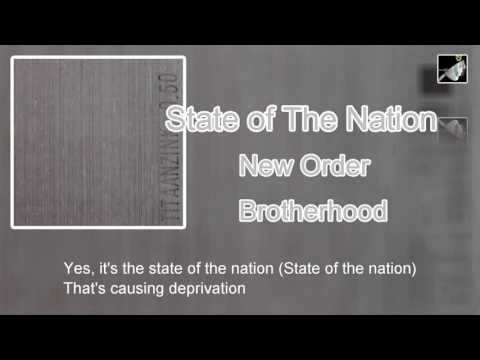 State of The Nation with lyrics