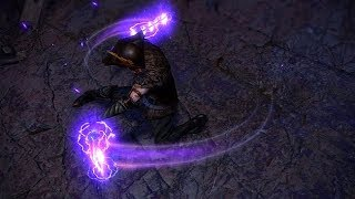 Path of Exile: Purple Weapon Effect