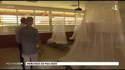 Saint-Georges : le collège Constant Chlore aménagé pour accueillir les patients positifs