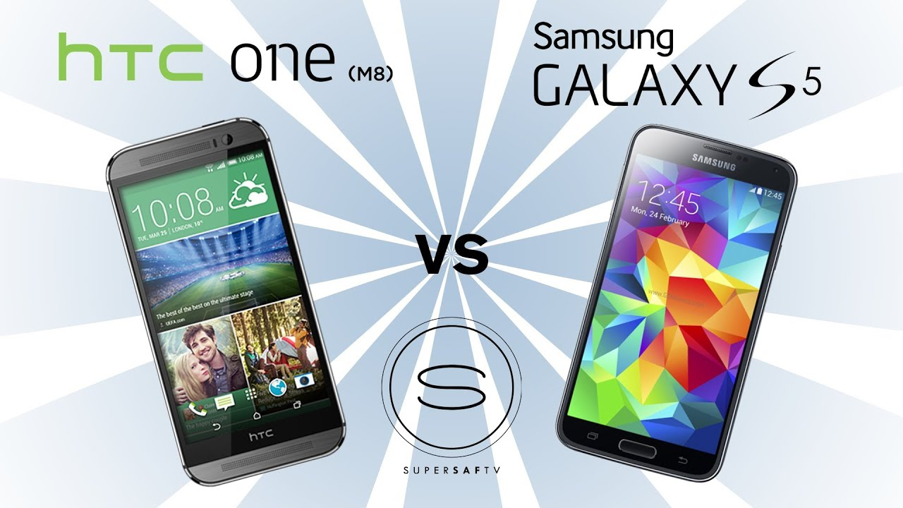 HTC One M8 vs Samsung Galaxy S5 - YouTubeHtc One Max Vs Galaxy S5