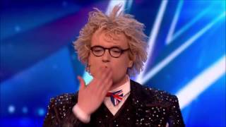 Crazy Magician with Dangerous Act | Auditions 1 | Britain's Got Talent 2017