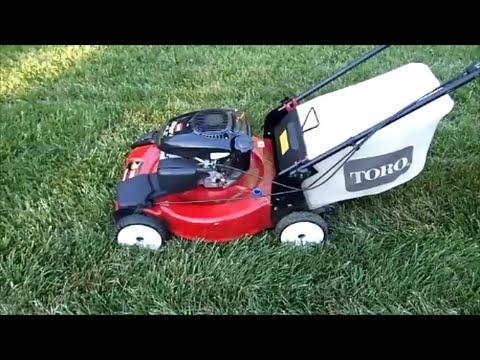 Toro Recycler Model 20370 Lawn Mower Kohler 6.75 Engine - Final Look & Start Part III - June 18,2016