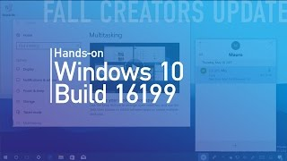 Windows 10 build 16199: Hands-on with MyPeople, Call Notificaitons, Settings