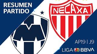 Resumen y Goles   Monterrey vs Necaxa   Jornada 9 - Apertura 2019   Liga BBVA MX