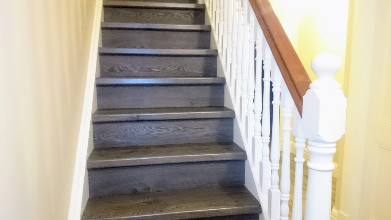 Quick Step Laminate Stairs Landing Amp 4 Bedrooms Youtube
