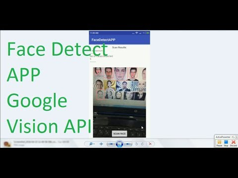 Android Real Time Face detection and Prediction using Google Mobile
