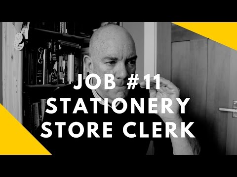 52 at 52: Job #11 -- Stationery Store Clerk