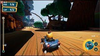Meow Motors / Cat Car Racing Games / Windows Steam Gameplay FHD #3