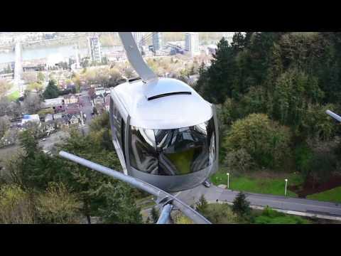 Portland, Oregon - Portland Aerial Tram HD (2017)