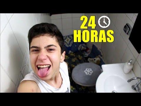 24 HORAS NO BANHEIRO