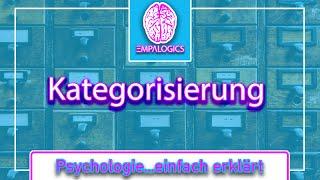 Kategorisierung - So bringst Du Dein Sexleben in Schwung   Psychologie...einfach erklärt
