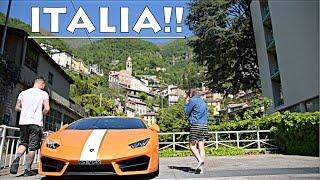 EXPLORING ITALY IN MY LAMBORGHINI!!