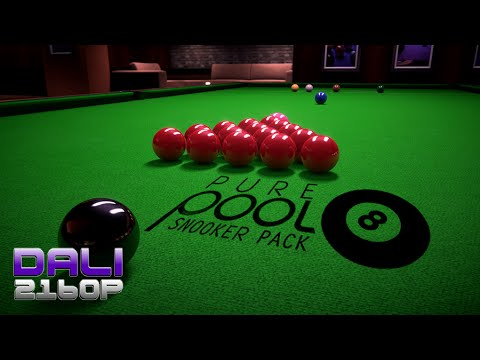 Pure Pool - Snooker pack PC UltraHD 4K Gameplay 60fps 2160p