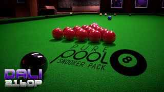 Pure Pool - Snooker pack PC UltraHD 4K Gameplay 60fps 2160p