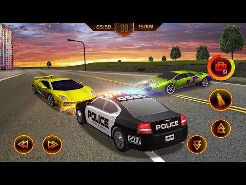 ПОЛИЦЕЙСКИЕ ПОГОНИ НА КРУТЫХ МАШИНАХ ИГРА НА ТЕЛЕФОНЫ АНДРОИД POLICE CAR CHASE