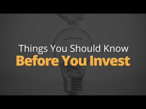5 Things to Know Before You Invest | Phil Town
