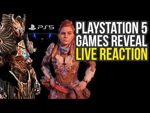 playstation-5-reveal-live-reaction---horizon-zero-dawn-2,-godfall-&-likely-way-more-(ps5-reveal)
