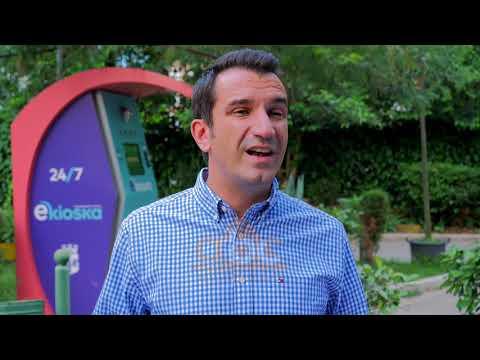 Nis sherbimi e -kioske ne Tiranes| ABC News Albania