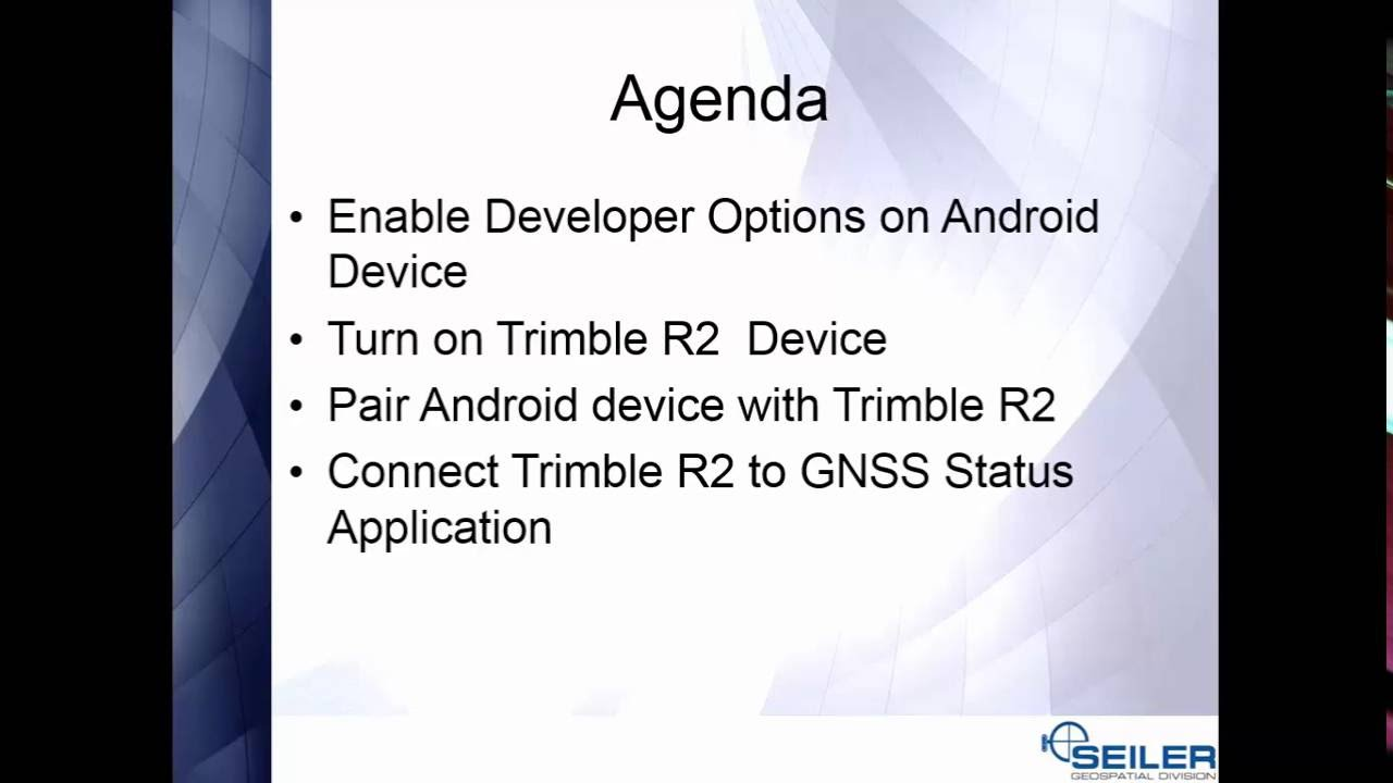 How to Connect Your Trimble R2 GNSS Receiver to Android and iOS