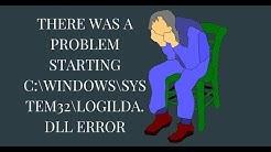 There was a problem starting C:WindowsSystem32LogiLDA.dll error