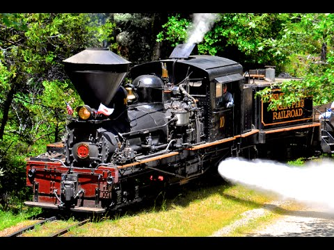 Yosemite Mountain Sugar Pine Steam Train