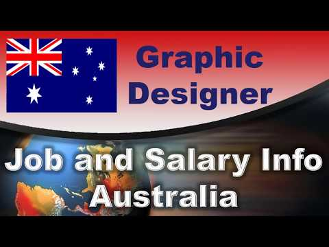Graphic Designer Job And Salary In Australia - Jobs And Wages In Australia