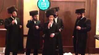 Shulem Lemmer with Shira choir singing Hamavdil