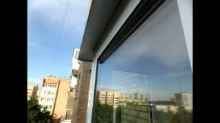 видео Остекление пластиковое балконов в старой хрущевке в Москве и Подмосковье недорого