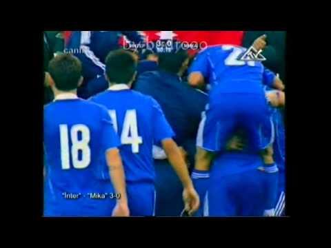 Интер (Азербайджан) 4 - 0 Мика (Армения)